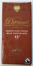Divine Fairtrade Milk Chocolate 90g